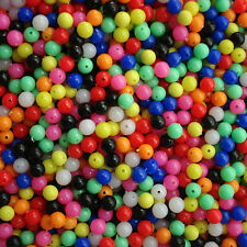 Wholesale 100Pcs Round Fishing Rig Beads Sea Fishing Lure Floating Float Tackles