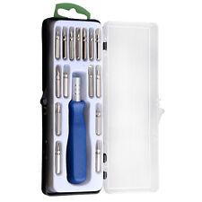 Magnet 16in1 Präzisions Schraubendreher Bits Torx Kit Reparatur Werkzeug Set Neu