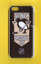 PITTSBURGH  PENGUINS Rigid 1 Piece Snap-on Case iPhone 5C (Design 6)FREE STYLUS