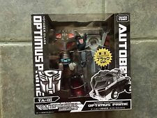Japanese Transformers Animated - TA-01 Black Convoy Nemesis Prime Exclusive