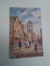 OLD Postcard Oxford, Tom Towers Christ Church Henry B Wimbush Tucks Oilette