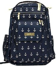 Ju Ju Be Legacy Be Right Back Backpack Baby Diaper Bag The Admiral NEW