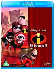 The Incredibles 2004 Disney Pixar Animation Blu ray Disc