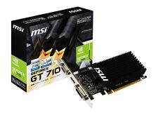 MSI GeForce GT 710 2GD3H LP 2GB 64-Bit DDR3 Low Profile Graphic Card