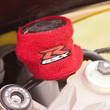 Large Red Brake & Clutch Reservoir Sock Cover Motorcycle Dirt Bike Oil GSXR