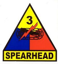 US Army 3rd Armored Unit Spearhead Decal