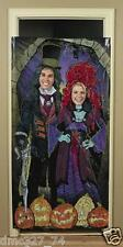 HALLOWEEN Party Prop HAUNTED MANSION House PHOTO Photograph Door Banner