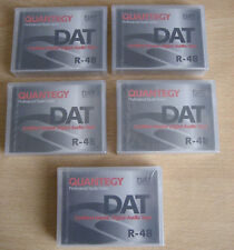 Quantegy R-48 DAT x5 Professional Studio Certified Master Digital Audio Tape NEW