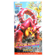 "Pokemon 150 Cards XY Break ""Explosive Fighter"" Booster Box 30 Packs / Korean Ver"