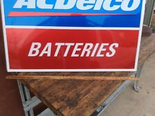 Ac/Delco Metal Battery Sign