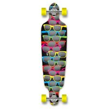 Yocaher Complete Shades / Black Drop Through Longboard