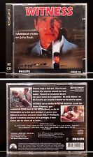 Philips CD-i / CDI / VCD / Video CD - Witness de Peter Weir - VF Dolby Surround