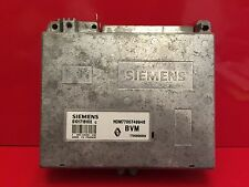 RENAULT CLIO CALCULATEUR MOTEUR ECU REF 7700858259 S101718102 C H0M 7700749946