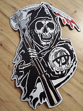 Sons Of Anarchy Full Size Rocker & Jacket Patches Biker Gang FX TV Show