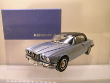REPLICARS/WM 100 JAGUAR XJC SILVER/BLUE MET.FACTORY HANDBUILT BOXED SCALE 1:43