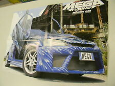 Q64 Poster Peugeot 206   retro Bettina   Maxi tuning-