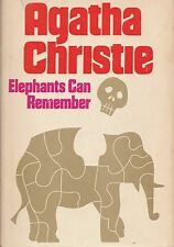 Elephants Can Remember by Agatha Christie (1972~HardcoverDJ~BCE)