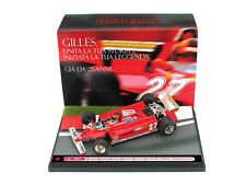 1:43 Diorama Brumm Ferrari 126 CK Turbo Gilles Villeneuve 1981 UNIQUE ON EBAY