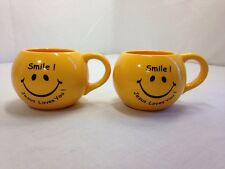 Set of 2 Jesus Loves You Papel Giftware Coffee Cups