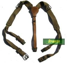 VINTAGE CZECH ARMY CANVAS SHOULDER HARNESS Y STRAP 1970's -1980'S ISSUE