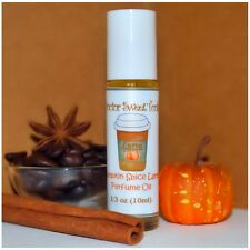 PUMPKIN SPICE LATTE Scented Perfume Oil Roll-Ons (.33oz)