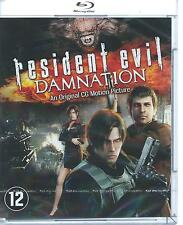 NW  BLUE RAY - RESIDENT EVIL - DAMNATION-FRANCAIS ENGLISH IT ESPANOL / NL