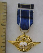 Post WW2 Vintage TAIWAN ROC REPUBLIC of CHINA AIR FORCE EIGHT STAR MEDAL