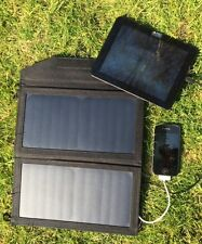 MSC 12W 2A Portable Folding Solar Panel Dual USB phone Charger monocrystalline