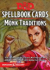 Dungeons & Dragons: Monk Traditions Spellbook Cards 73913
