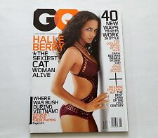 Halle Berry GQ Magazine August 2004