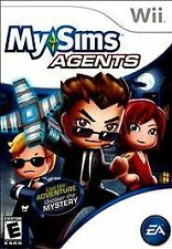 MySims Agents Nintendo Wii TESTED FREE SHIP