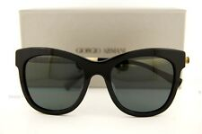 Brand New GIORGIO ARMANI Sunglasses AR 8011 5017 87  BLACK GRAY  for Women