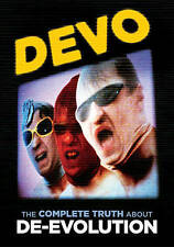 DEVO The Complete Truth About De-Evolution DVD 20 videos & tons of extras SEALED