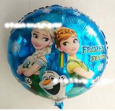 1pcs Disney Frozen Elsa Birthday Mylar Party Decoration Theme Supplies Balloon