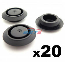 20x 18mm Hole Blanking Plugs / 18mm Blanking Grommets- For a 2mm Panel Thickness