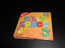 SET OF FOUR CD,S (SILLY SONGS).  80 SHORT SONGS.  SUPER CONDITION.