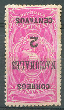 GUATEMALA Yv # 94 Inverted Overprint Mint Hinged VF