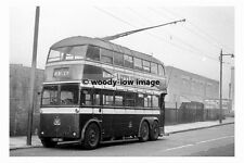 pt8948 - Doncaster Trollybus no 347 at Greyfriars in 1955 - photograph 6x4
