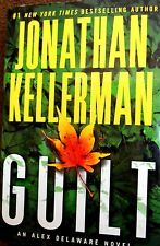 Guilt by Jonathan Kellerman new hardcover Large Print Book Club edition