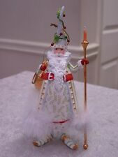 PATIENCE BREWSTER KRINKLES CANDLE LIGHT SANTA CHRISTMAS ORNAMENT