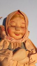 "Tanika 8"" Girl Vint NM Stockinet All Cloth 1930's Russia Russian Soviet Union"