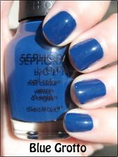 NEW! Sephora by OPI NAIL POLISH in BLUE GROTTO ~ DISCONTINUED