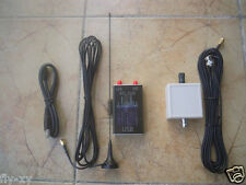 100KHz-1.7GHz full band UV HF RTL.SDR USB Tuner Receiver+ long-antenna balun 9:1