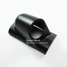 "UNIVERSAL SINGLE gauge pod 2"" 52mm GAUGE HOLDER PILLAR POD RIGHT HAND RHD BLACK"