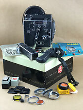 Bolex H-16 SUPREME 1954 Movie Camera Body w/original Box & accesories