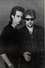 21/11/92PGN03 NICK CAVE & SHANE MACGOWAN BLACK 7 WHITE PICTURE 10X7""