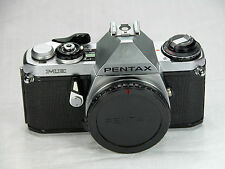 Asahi Pentax ME SLR Electronically Tested for Accuracy  bundle body cap