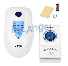 38 Music Tune Melody Plug-in Type Digital Wireless Doorbell with Flashing Light