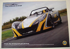Lotus . 2-Eleven . The 2 - Eleven . 2009 Sales Leaflet