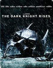 The Dark Knight Rises Steelbook - FSK 12 - Blu-Ray